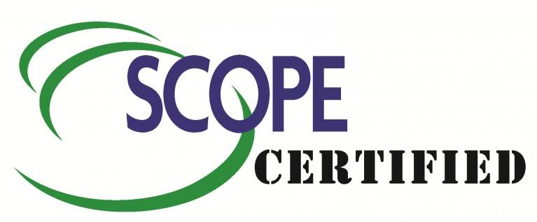 1 SCOPE Certified logo